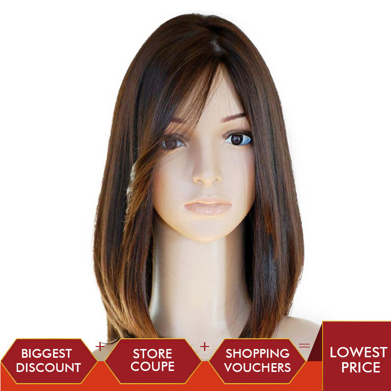 Jewish Wig Silk Base Lace Front Human Hair Wigs Pre Plucked European Virgin Hair With Baby Hair Rosa Queen