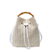 Wooden Handle Individual Stylish Bag Handle Fashion Bamboo Handle All-match Unique Luggage Accessories Decorative Accessories