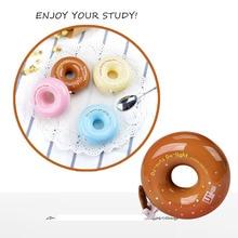 купить Novelty Cute Donut Correction Tape Diary Stationery School Supply Hot Sale Kawaii Cartoon Diary Students Stationery дешево