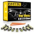 BMTxms для Mercedes Benz W168 W169 W176 W202 S203 W204 CL203 W124 W210 W212 C207 A207 W220 W221 Canbus Светодиодная лампа для освещения салона автомобиля