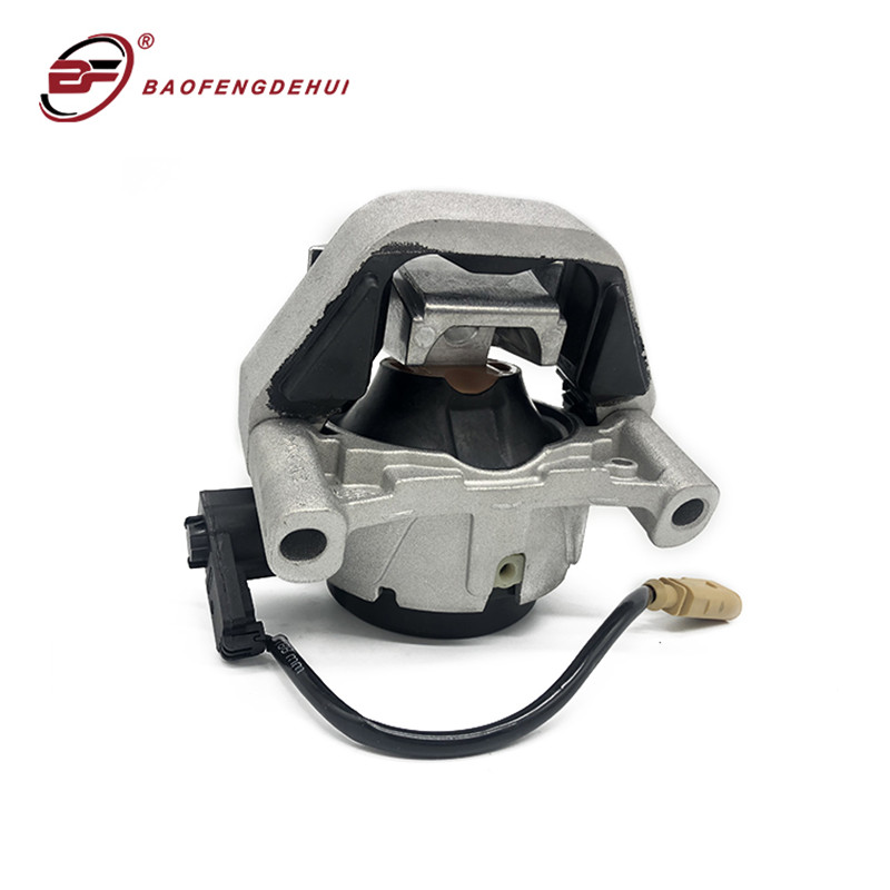 Engine Mount With Sensor Electronically Controlled Hydro Motor Mounts For Audi A6 A7 2.0TFSI Right 4G0199381NT Left 4G0199381NS