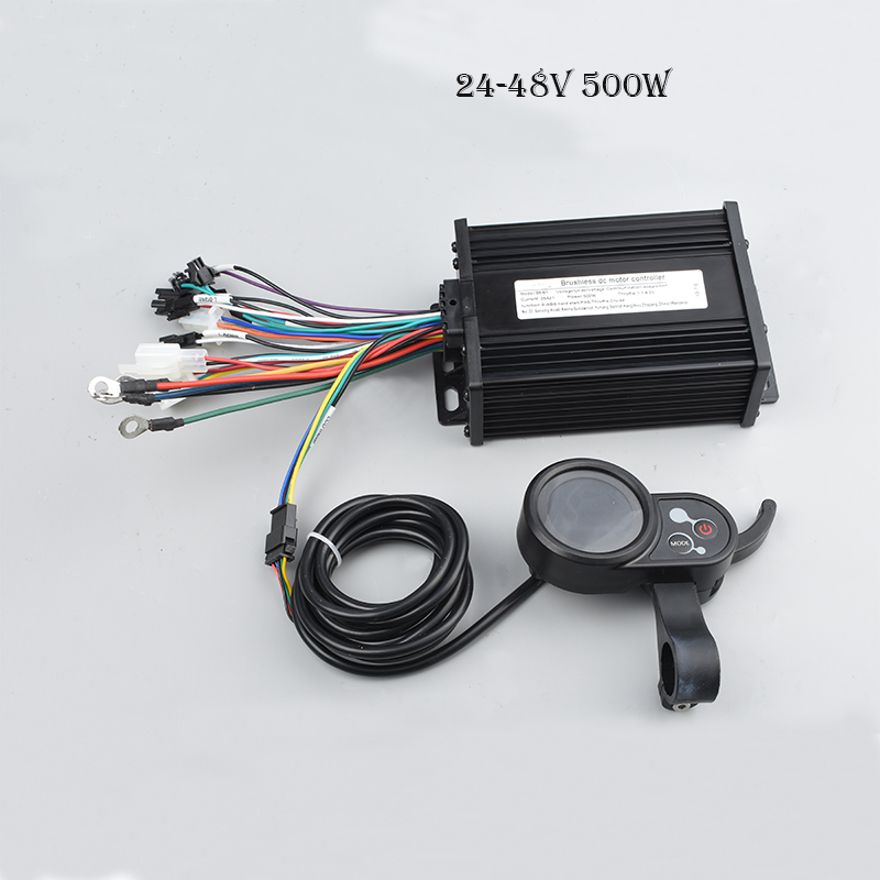 S890 E bike Conversion Kit 250W 350W 24V 36V 48V DC Mode e Scooter Brushless Motor Controller with Electric Bike LCD 500W