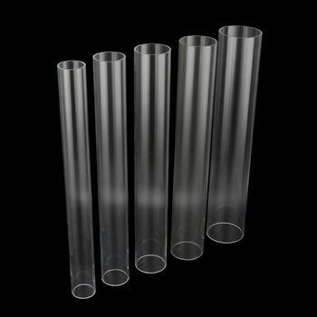 1 Pc 48 ~ 50cm długość 50 60 70 75 90mm wysoce przejrzysty rura akrylowa akwarium rura nawadniająca rura tanie i dobre opinie Acrylic 11965 11966 11967 11968 11969 50 60 70 75 90mm Acrylic Pipe Out diamter 50 60 70 75 90mm Transparent 48~50cm Use Glue To Connect