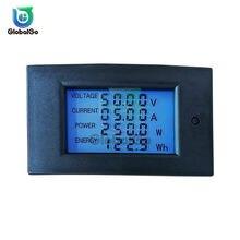 Voltmetro a pannello digitale DC Ampere Meter 6.5-100V 4 IN1 LCD potenza energia corrente amperometro 20A 100V