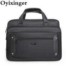 High Quality Men Business Handbags Large Capacity Laptop Bags 17.3 Inch Crossbody Travel Shoulder Bag Pochette Bandolera Hombre