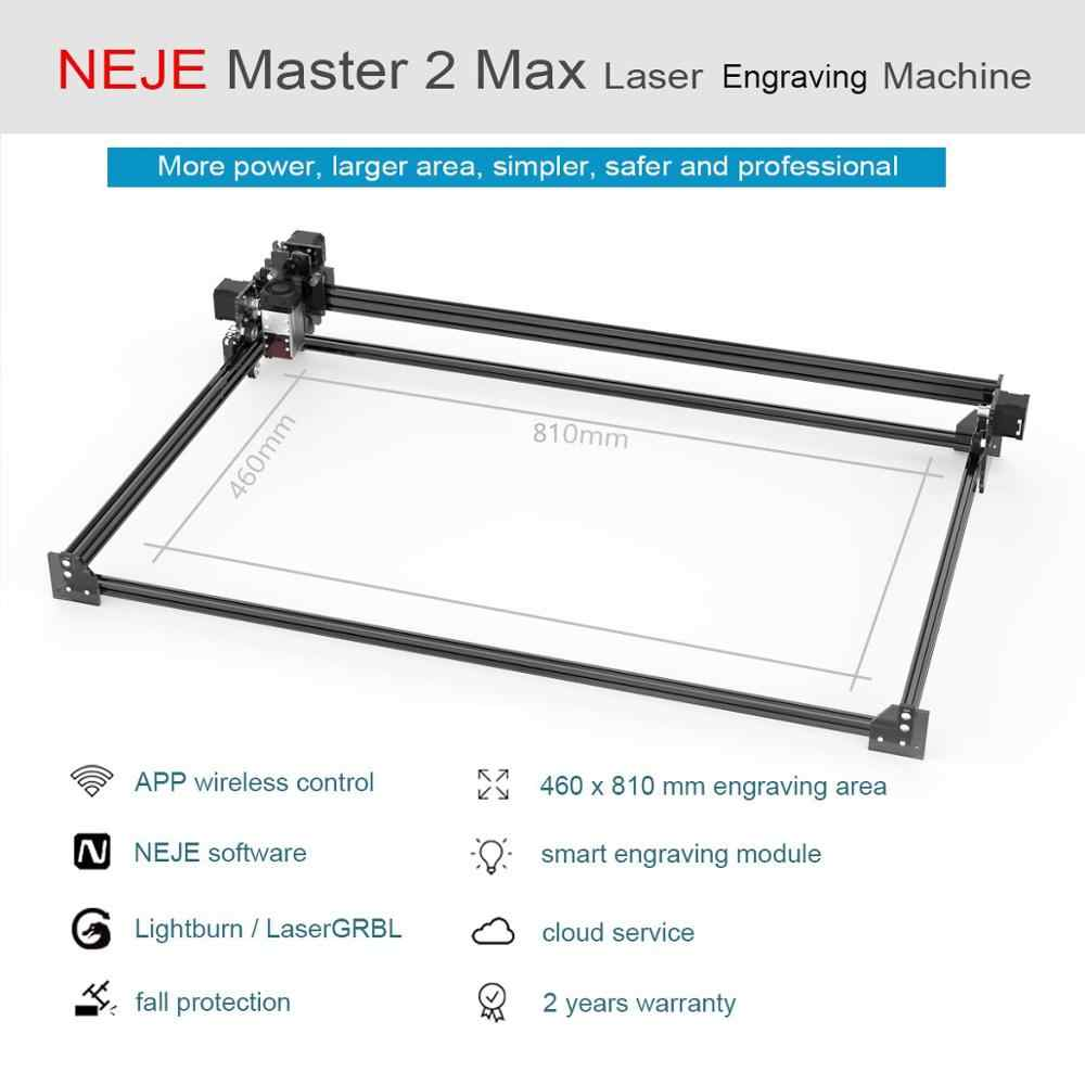 NEJE Plus 30W Engraving Machine,7.5W Output Power,New Upgrade Design Large Working Area 255 x 440 mm.Best Cutting Material for Wood//MDF//Balsa//Leather,etc.