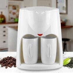 2 Cups Drip Coffee Makers 500W Electric Automatic Coffee Steam Espresso Espresso Machine Portable Outdoor Travel Coffee Machine