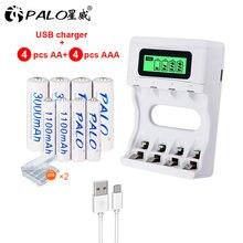 Palo nc07 устройство быстрой зарядки usb ЖК дисплей смарт зарядное