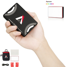 Aputure AL MC צילום תאורה נייד LED אור 3200K 6500K RGB HSI/CCT/FX תאורת וידאו אור Selfie עבור Canon ניקון