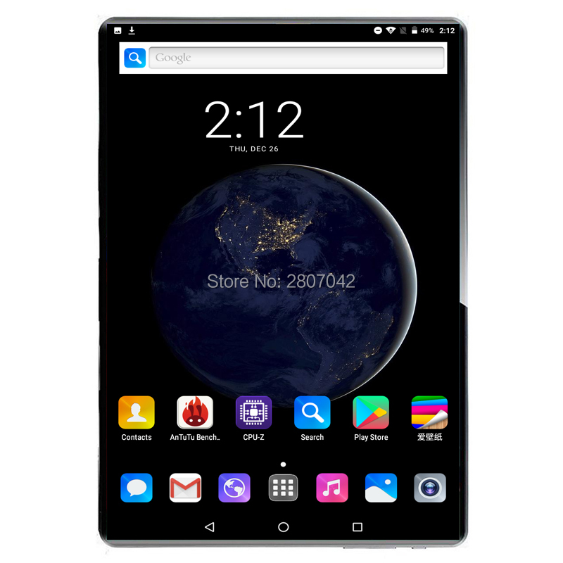 2020 Sales Android 9.0 Tablet 10 Inch  8GB RAM+128GB ROM 10 Inch Tablet 2.5D Tempered Glass Deca Core  IPS 8MP Wifi A-GPS PC