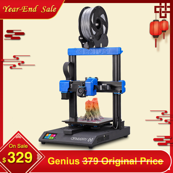 2020 Newest Artillery Genius 3D Printer Kit 220*220*250mm Print Size with Ultra-Quiet Stepper Motor TFT Touch Screen