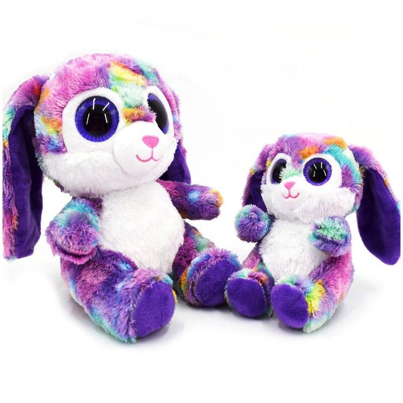 15cm/25cm Long Ear Bunny Rabbit Plush Stuffed Baby Doll Babies Sleeping Dolls Children Toys Birthday Gift For Babies Doll