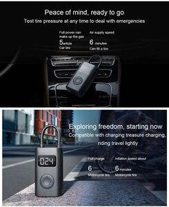 Image 5 - Xiaomi Mijia Inflator Portable Mini LED Smart Digital Tire Pressure Sensor Electric Pump For Bicycle Motorcycle Car Soccer