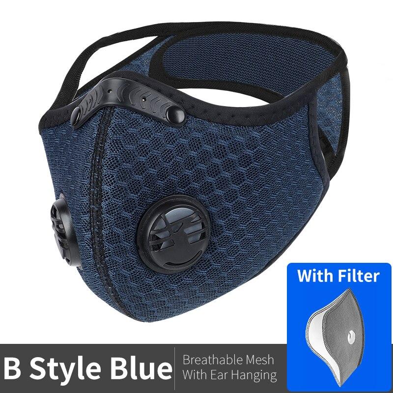 B Style Mesh Blue