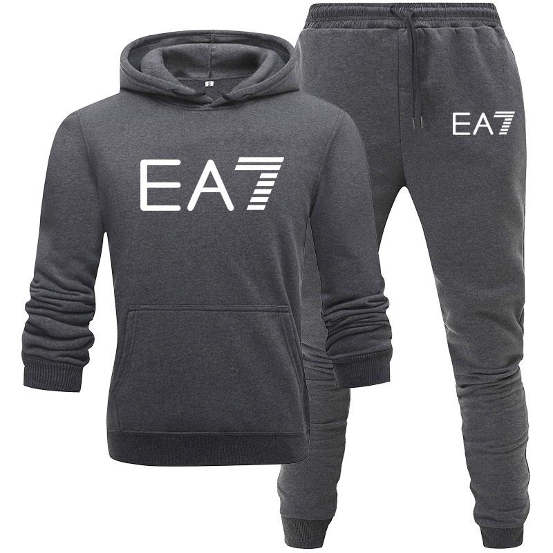 New Brand Men Clothing Sets Tracksuit 2 Piece Sets Hoodies+Pants Men's Sweater Set Sports Suit Streetswear Jackets