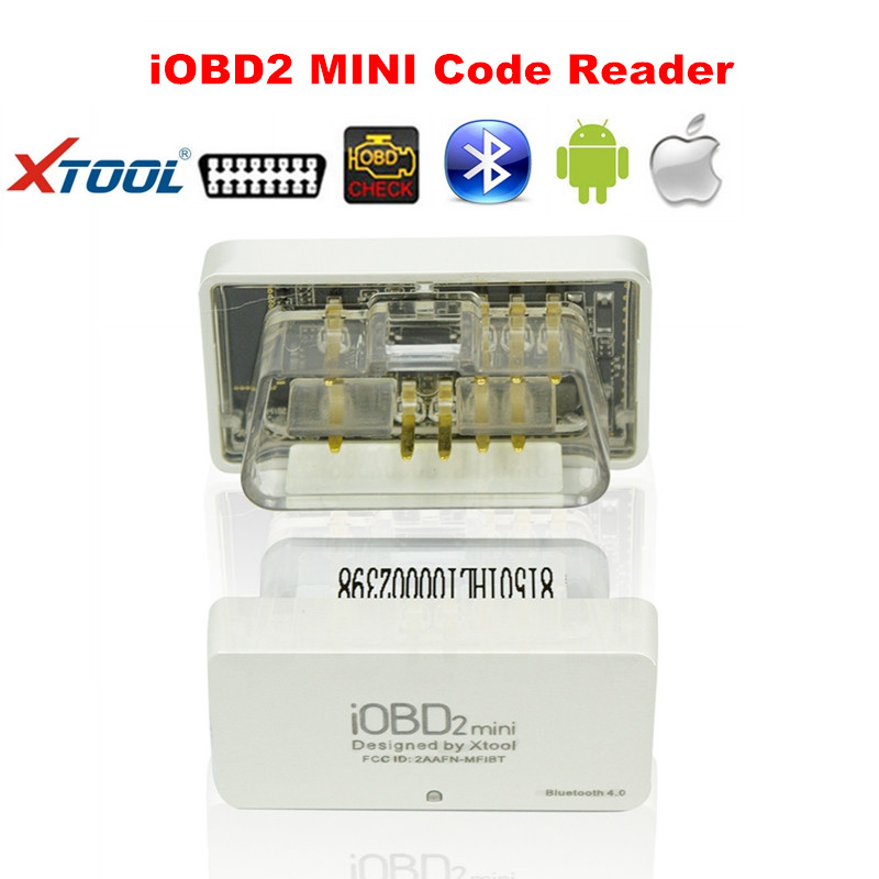 MINI Scanner XTool iOBD2 MINI Bluetooth Works Android/iOS Smart Phone Works Cars After 1996 Best Economy iOBD2 Tool|Code Readers & Scan Tools| |  - title=