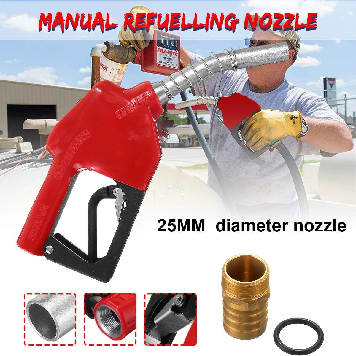 Car Fuel Filling Nozzle-Gun Automatically Cuts Off The Diesel-Fuel-Gun For Diesel, Kerosene, Petrol Below 90# 25mm Nozzle