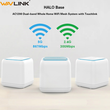 Original AC1200 Wireless WIFI Router Gigabit Whole Home Wi-Fi Mesh Smart System  Dual Band 2.4G/5Ghz wifi Repeater 1200mbps totolink t10 whole home mesh network wireless ac1200 dual band office wi fi router high speed mesh system wireless wifi repeater