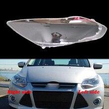 Coque transparente en plexiglas pour phare avant, pour Ford focus 2012 2013 2014 2015
