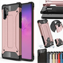 Luxury Armor Case For Samsung Galaxy Note 10 plus 8 9 Soft Bumper Shockproof Cover For S10 5G A10 S A20 E A30 A40 A50 A70 A80