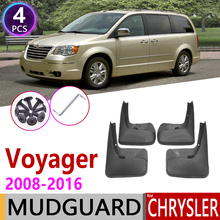 Paraspruzzi per Chrysler Voyager 2008 ~ 2016 Parafango Paraspruzzi Paraspruzzi Parafango Accessori 2009 2010 2011 2012 2013 2014 2015