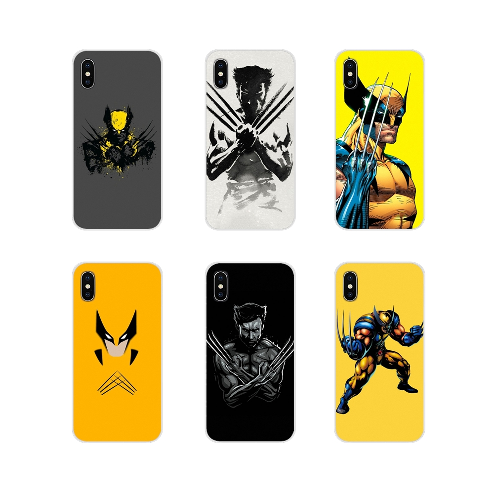 Accessories Phone Shell Covers Marvel Hero Wolverine For Xiaomi Mi4 Mi5 Mi5S Mi6 Mi A1 A2 A3 5X 6X 8 CC 9 T Lite SE Pro
