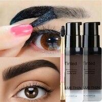 Peel off Eyebrow Enhancer - Dye Cream Eyebrow Tint and Tattoo Gel 1