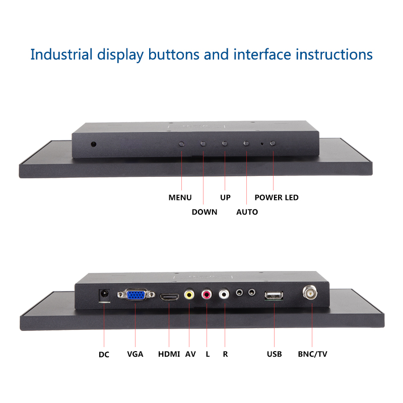 Neue 13,3/15,6 ''1366x768 Tragbare Computer Monitor PC HDMI PS3 PS4 Xbox360 HD IPS LCD 10,1 /11,6 zoll Display Monitor für Kamera