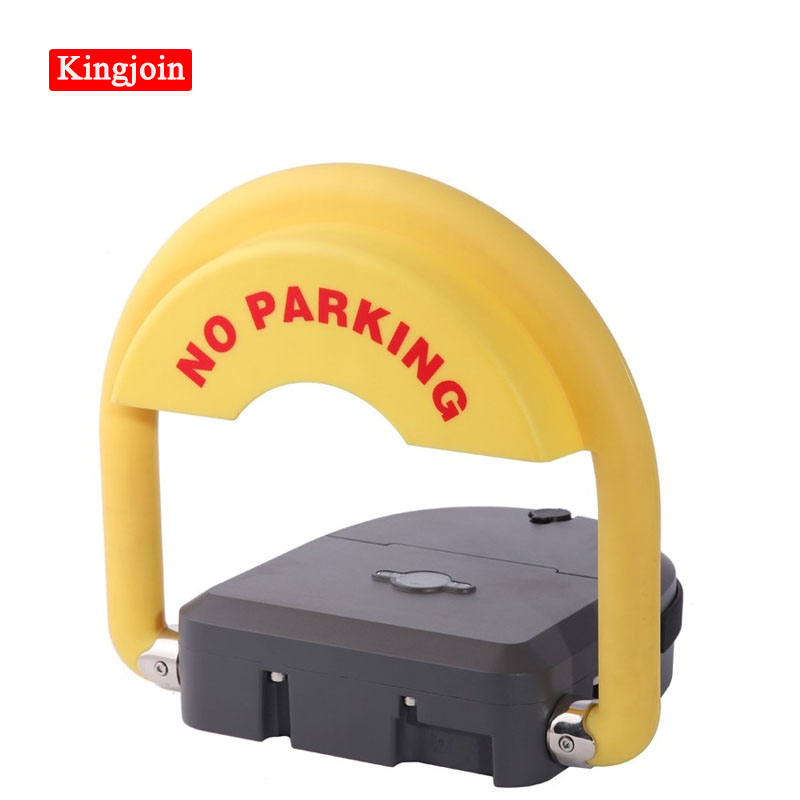 KINGJOIN Waterproof Smart Automatic Parking Fence, Grey, With Remote Control Car Parking Barrier Parking Lock