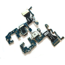 Untuk Samsung Galaxy S9 G960F S9 Plus G965F Headphone Jack Mikrofon Port USB Pengisian Soket Dock Konektor FLEX Kabel(China)
