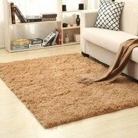 Tapete de tapete de tapete de tapete de piso para sala de estar sala de estar tapete de tapete de área de plush longo super macio interior moderno decorativo sólido anti skid|Tapete| |  -