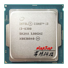 Intel Core i3-6300 i3 6300 3.8 GHz Dual-Core Quad-nici procesor CPU 4 M 51 W LGA 1151
