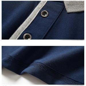Image 4 - 2020 erkekler kısa Polo GÖMLEK Slim Fit Camisa rahat pamuk yaz kısa kollu gömlek Homme 5XL artı boyutu iş iş başında gömlek