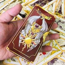 Аниме карта Captor Sakura TAROT Clow Card косплей реквизит KINOMOTO SAKURA костюм гадание инструмент игрушки