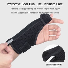 1Pc Sport Thumb Protector Brace Guard Adjustable Hand Wrist Wrap Arthritis Sprains Strain Support