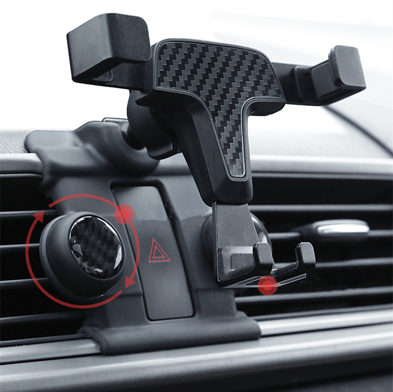 Gravity Car Holder Bracket For Mobile Phone Cell Dashboard Air Vent Stand Clip Mount For Mazda Axela 2014 2015 2016 2017 2018 image
