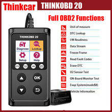 THINKCAR OBD 2 Scanner Automotive Scanner OBD Auto Diagnostics Tools For Cars O2 Senior Emission Check Warning Light ThinkOBD 20