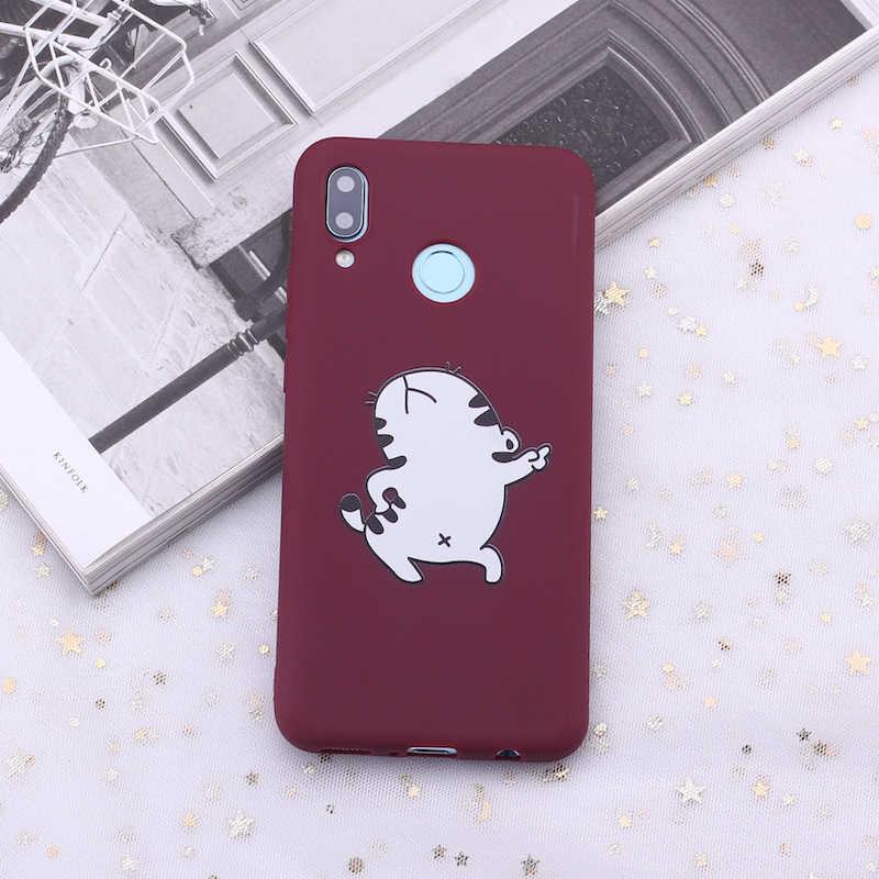 لسامسونج S8 S9 S10 S10e زائد نوت 8 9 10 A7 A8 مضحك ميمات الرموز التعبيرية الحلوى سيليكون غطاء إطار هاتف محمول كابا Fundas كوكه