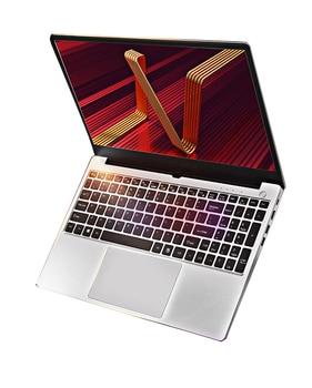 "Free Shipping 15.6"" Silvery Metal Laptop Ultrabook Core i7 10510U  i5 10210U 8M Cache Type-c Backlit keyboard Quad Core laptop 1"