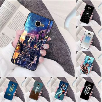 Amine Kingdom Hearts High Quality Silicone Phone Case for Samsung a3 a5 a6 a9 a7 a8 a10 a20 a40 a70 case image