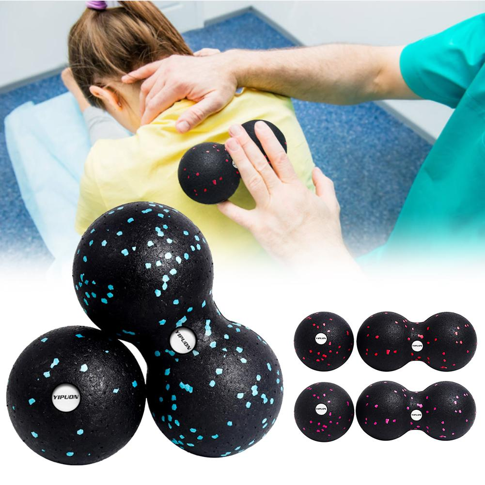 Sports Myofascial Release Peanut Massage Ball Fascia Fitness Massager Roller For Pilates Yoga Gym Relaxing Exercise Equipment