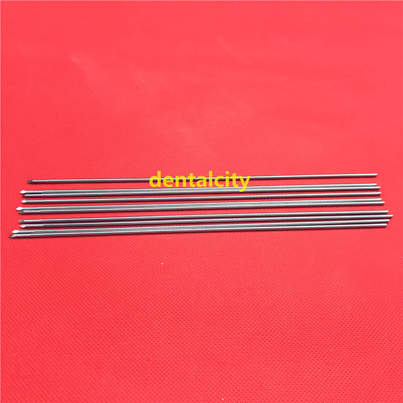 Купить с кэшбэком 10pcs Stainless steel partial threaded Kirschner wires Veterinary orthopedics Instruments