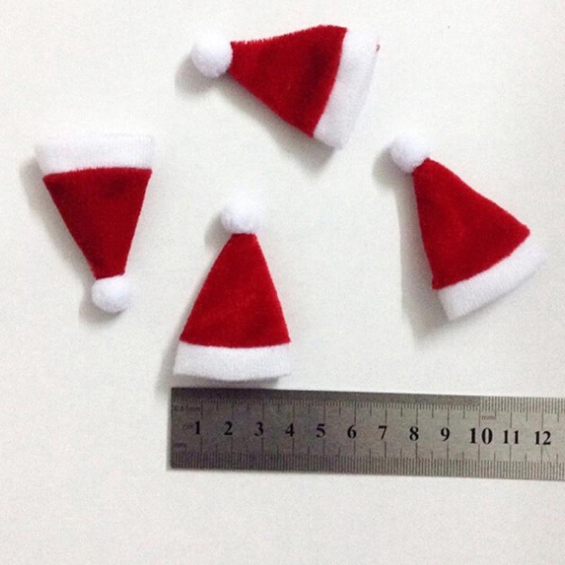 Xmas Party 12/'/' Action Figure Santa Hat 1//6 Male Cap Santa Claus Gifts