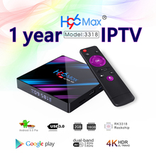 IPTV H96 tv box RK3318 channels list Asia Europe French UK account panel iptv subscription 12 months iptv France