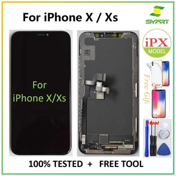 AAA+++ For iPhone X LCD 10 XS 11 Screen LCD Display Touch Screen Digitizer Assembly For iPhoneX XS Max XR 11 OLED LCD display premium quality for iphone x oled amoled lcd display 3d touch screen digitizer lcd for iphonex replacement assembly parts