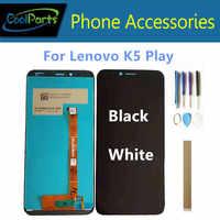 """Originale 5.7 """"Per Il Lenovo K5 Gioco L38011 K5 Pro Sensore di L38041 Display LCD + Vetro Dello Schermo di Tocco Digitizer Assembly con Strumenti di Nastro"""