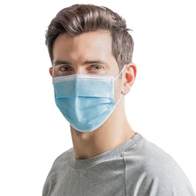 50pcs Surgical mask Face Mouth Masks Non Woven Disposable Anti-Dust Earloops Masks dust-proof  Face Surgical mouth cover masks