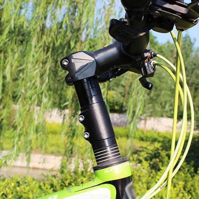 Details about  /Mountain Bike Handlebar Front Fork Stem Riser Extender Extension Head Up Adaptor