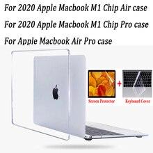 2020 новый чип M1 Air Pro 13,3 дюйма AIR 13 A2337 a2179 new Pro 13 A2338 a2251 чехол для ноутбука Apple Macbook Air Pro Touch Bar ID