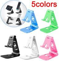 Soporte de escritorio para teléfono móvil, soporte para Smartphone plegable, extensible, Universal, para perezosos